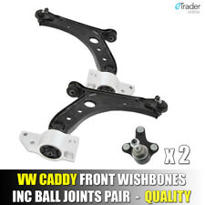 VW Caddy 2004-2010 Lower Front Wishbones Suspension Arms Pair Wishbone Arm x2
