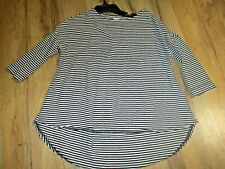 Girl's Old Navy Long Sleeve Striped Tunic Shirt-High-Low Bottom - Size XS 5