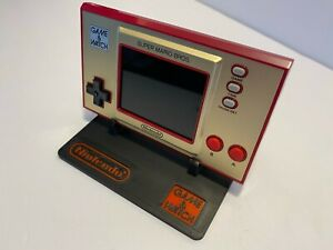 Nintendo Game and Watch Stand -  Custom Display Stand - For Super Mario Bros G&W