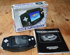 Nintendo GameBoy Advance 32Bit, Konsole, Farbe schwarz, Sehr guter Zustand