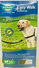 PetSafe Easy Walk Harness Black/SILVER for Large Dogs New