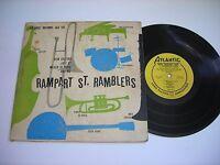 "Wilbur De Paris and Rampart St. Ramblers New Orleans Jazz 1952 10"" Mono LP VG++"