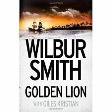 Golden Lion by Smith, Wilbur Book The Cheap Fast Free Post