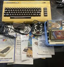 Vintage Commodore Vic 20 Computer Plus Games