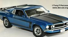"Danbury Mint 1969 Ford Mustang Boss 302 Ltd Ed ""CAR NEW IN BOX"" 1:24"