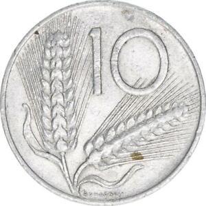 Italien, 10 Lire 1953, A60405