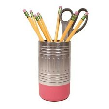 Office Boss Desk Gifts Pencil End Cup Pens Writing Stationery Eraser Sharpener