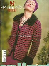 BOUTON D'OR MAGAZINE AUTOMNE COLLECTION #70  Knit & Crochet Patterns 19 designs