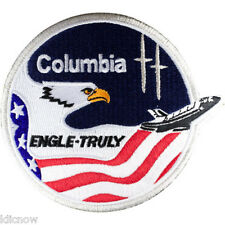 Columbia 2 Mission Embroidered Patch (Official Patch) 10cm Dia approx