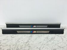BMW E46 3 series Coupe / Convertible - M Sport Door Sill Kick Plate Trims PAIR