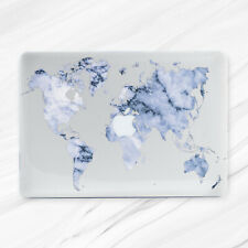 World Atlas Map Marble Aesthetic Hard Case Cover For Macbook Air 11 13 Pro 13 15