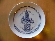 Sammelteller Schülertreffen Jahrgang 1931 Asch 1991 Aš Hutschenreuther