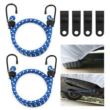New Car Cover Straps Wind Protector Gust Guard Car Cover Cable and Lock