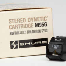 Shure M95G Cartridge Stylus in Packaging with Paperwork