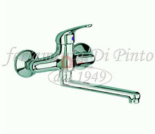 Mixer Tap Single Lever Made Italy 5 Years Sink Wall Bathroom Cromat