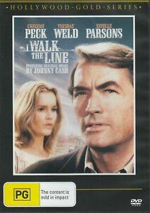 I WALK THE LINE DVD 1970 NEW Region 4 Gregory Peck Tuesday Weld Estelle Parsons
