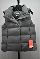 +The North Face Novelty Nuptse Goose Down Hooded Vest, Women's Size M, Asphalt