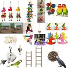 Pet Bird Parrot Chew Bites Swing Cage Toy for Parakeet Cockatiel Cockatoo Toys