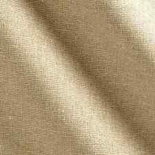 """Bty~Kaufman Fabric Linen & Cotton Blend~ Essex Yarn Dyed ~ Metallic ~ Sand ~45""""W"""