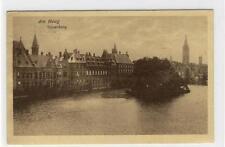 AK Den Haag, Vijverberg, 1924