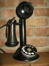 ANTIQUE PRE 1941 CANDLESTICK TELEPHONE UNTESTED LOOKS NICE FOR AGE