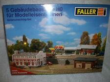 FALLER EINFAMILIENHAUS GÜTERUMSCHLAG - SET OVP + NEU