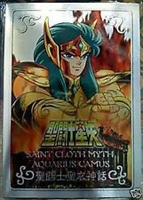 Bandai Saint Seiya Gold Cloth Myth Metal Plate Aquarius Camus New