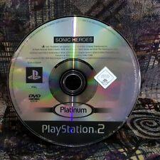 Play Station 2 Spiel PS2 Sonic Heroes Platinum  Spiel