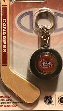 2009 MONTREAL CANADIENS NHL $1 Coin Hockey Mini-Puck And Mini-Stick Key Chain