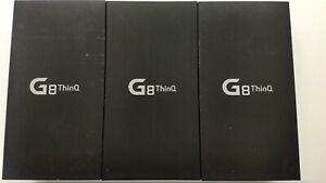 Lot of 3 LG G8 ThinQ G820UM Sprint 128GB Check IMEI IP-8417