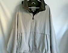 Pacific Trail Men's Jacket Size XL Silver Gray With  Black Lining Elastic Waist