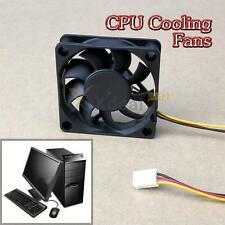 60x60x15mm 3 Pin Connector DC 12V Computer Case Cooler Cooling Fan PC Black NEW