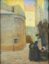 Raymond Coignande de Fontanes (1875-) Pastel ORIENTALISTE ORIENTALISME MUSEUM