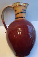 "Nice 12"" handmade pitcher"