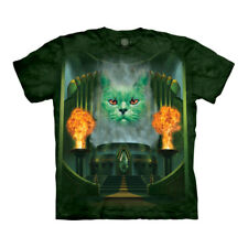 The Mountain Cat Great And The Powerful Wizard Of Oz Emerald City Adult T-Shirt
