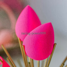 2PCS/set Original Beauty Makeup Sponge Blender Applicator Latex Free Pink/Black