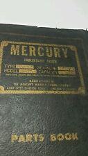 PETTIBONE MERCURY ELECTRIC FORK TRUCK MODEL: A-2500-30 PARTS CAT. & MAINTENANCE