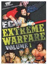 ECW EXTREME WARFARE VOLUME 1 DVD Wrestling Catus Jack Francine Sandman Sany wwf