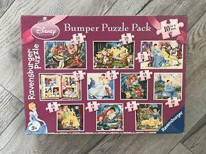 Ravensburger Bumper Disney Princess 10 jigsaw Puzzle Pack