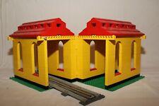 7777 Lego Lokschuppen Tunnel Eisenbahn 12 Volt/ 4,5 Volt