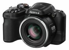 Fujifilm FinePix S Series S8600 16.0 MP Digital Camera - Black