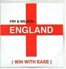 (362J) Fry & Wilson, England (Win With Ease) - DJ CD