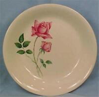 Bermuda Rose Soup Bowl Canonsburg Pottery Vintage Retro Mid Century Modern