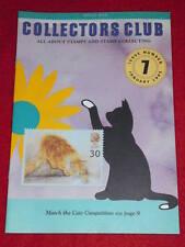 Royal Mail Collectors Club #7 - Cats - Jan 1995