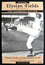 1998 ELYSIAN FIELDS QUARTERLY BASEBALL JOURNAL - JUAN MARICHAL