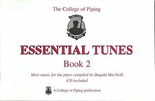 New Essential Tunes Book Two 2 with CD Bagpipe Music