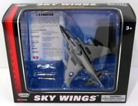 Motormax Skywings 1/100 Scale 77001 - F-4 Phantom With Display Stand