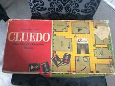 Vintage Cluedo The Great Detective Game By Waddingtons 1972 Edition