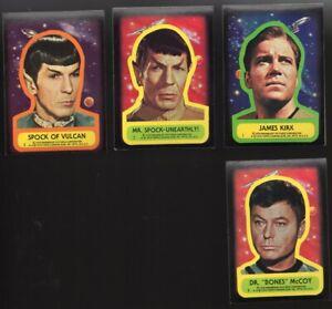 Star Trek Topps Trading Card Sticker Set #1-22 NM   1976