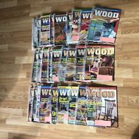 Lot of 27 BHG Wood Magazines complete issues #103-129 1998 1999 & 2000 very good